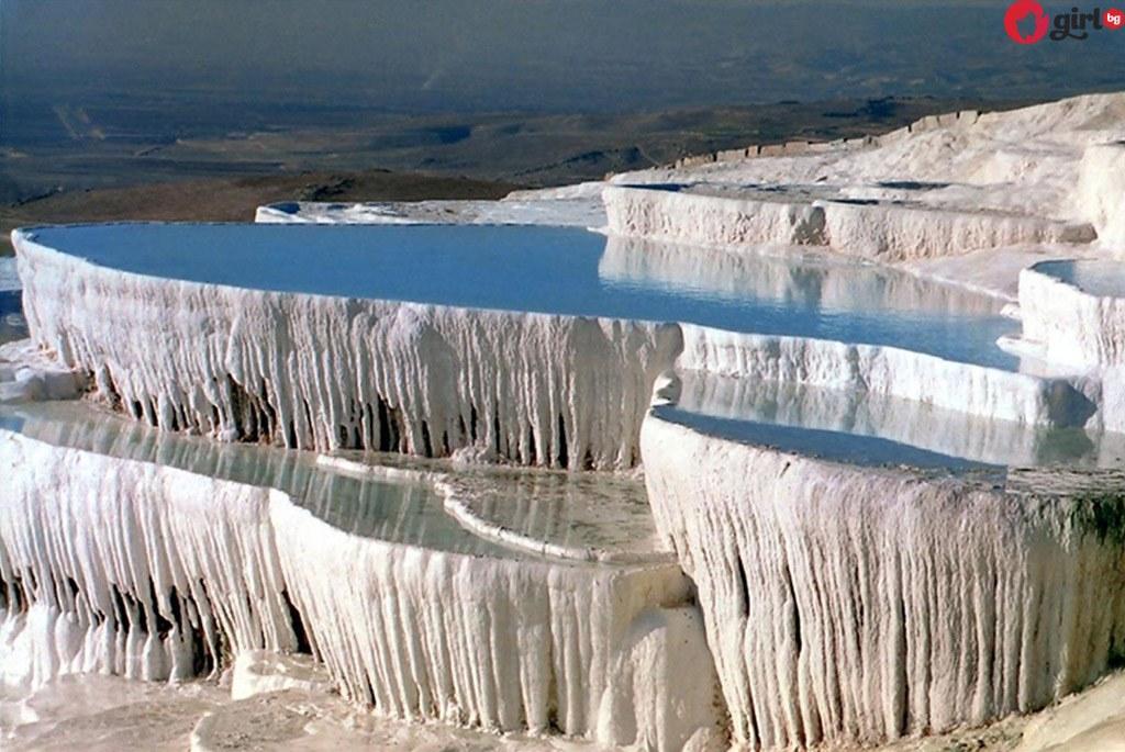 Вижте каква е легендата за едно от най-красивите места в света – Pamukkale