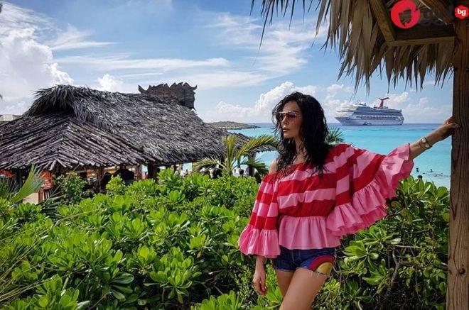 Вижте в какъв лукс се къпе Галена на Бахамите – даже Памела Андерсън ще ѝ завиди (снимки)