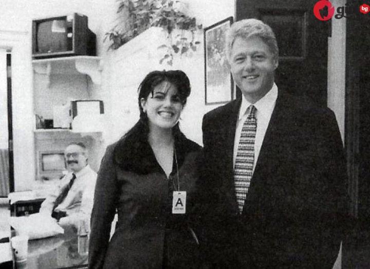 Помните ли Моника Люински, която имаше скандална афера с президента Клинтън? Вижте я как живее днес!