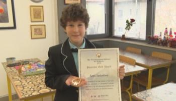 9-годишно момче от Плевен спечели златен медал на конкурс в Токио