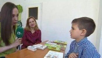 """""""Българче чудо - на 6 години говори английски, чете, пише и смята"""